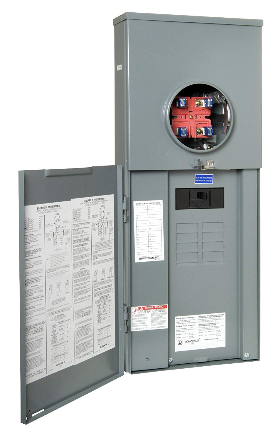 New Circuit Panel Box Electrical Service Upgrade Krh